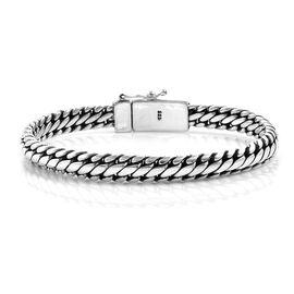 Royal Bali Collection Sterling Silver Bracelet (Size 7.5), Silver wt 37.00 Gms.