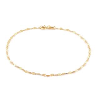 Forzatina Chain Bracelet in 9K Yellow Gold 7.25 Inch