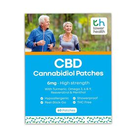 Tower Health: Tower Health CBD Patches - 30 Patches (12MG)