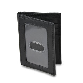 Close Out Deal- RFID Protection - 100% Genuine Leather Mens Wallet with Magnet (Size 10.2x15.5 cm)-