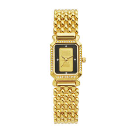 Close Out Deal Swiss Made Credit Suisse One Gram 999.99 Gold Ingot Ladies Watch