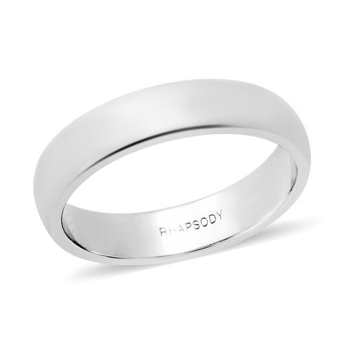 RHAPSODY 950 Platinum Band Ring, Platinum wt 5.29 Gms.