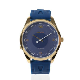Kyboe Evolve Majestic Quartz Movement Watch in Blue Colour