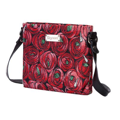 SIGNARE - Tapestry Mackintosh Teardrop Cross Body Bag ( 28 x 18 x 8 Cms)
