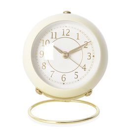 Decorative Alarm Clock Yellow - Colour