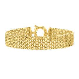 Hatton Garden Close Out 9K Yellow Gold Bismark Bracelet (Size 7.5), Gold wt. 7.75 Gms
