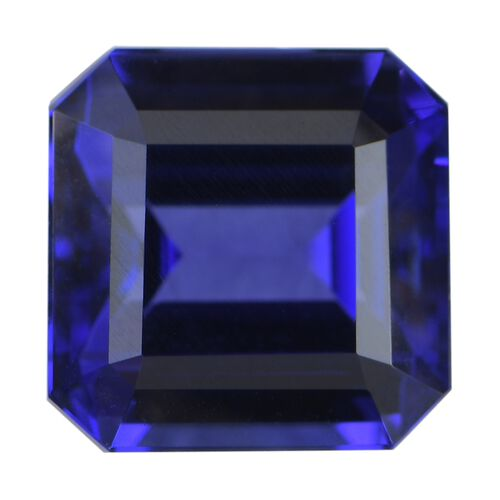 AAAA Tanzanite Octagon Free Faceted (10.89x10.87x7.90) 9.24 Cts