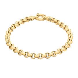 Belcher Chain Bracelet in 9K Yellow Gold 8.40 Grams 7.5 Inch