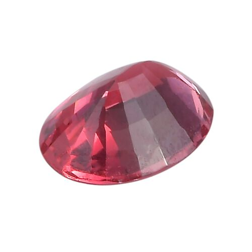 Rose Spinel Oval 7.54x5.57x3.23 Faceted 1A 0.90 Cts