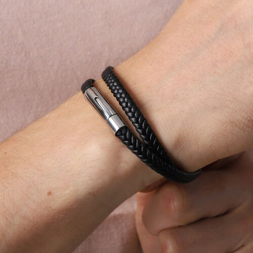 Personalise Engravable Genuine Leather Bracelet