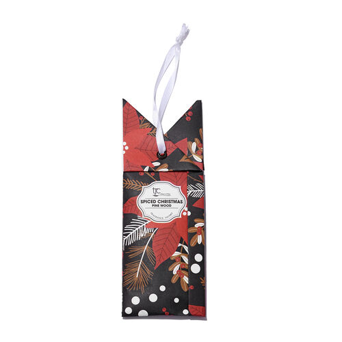 Home Sense - Set of 6 Scented Sachets With Christmas Pine Fragrance