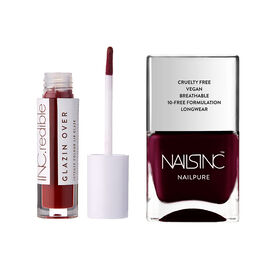 Nails Inc: Find Your Light Lip Gloss & Victoria Nailkale - 14ml