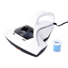 Super Auction - Powerful Suction UV Vacuum Cleaner with Two Piece Filter and 5 Metre Power Cord - Wh