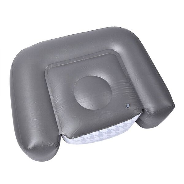 Comfortable Inflatable Deluxe Armchair with Backrest (Size 108x80x66 Cm)