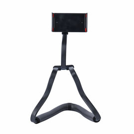 BENDABLE Phone Holder with 360 Rotation Clip on Holder (Size 55x10Cm) - Black