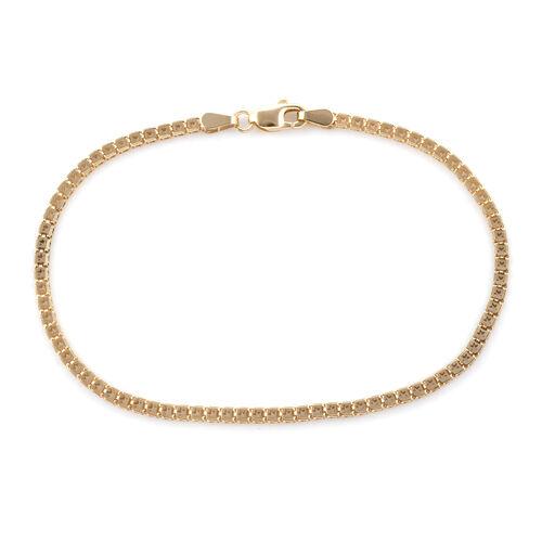 Royal Bali Collection 9K Yellow Gold Bracelet (Size 7.5) Gold Wt 2.65 Grams
