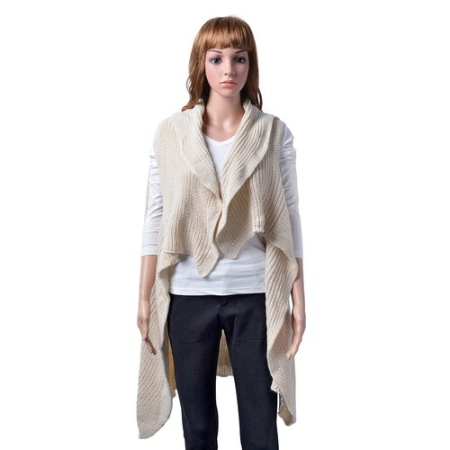 Off White Colour Cardigan (Free Size)