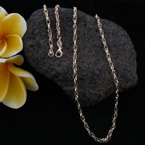 Royal Bali Collection 9K Yellow Gold  Necklace (Size 20) Gold Wt 2.70 Grams