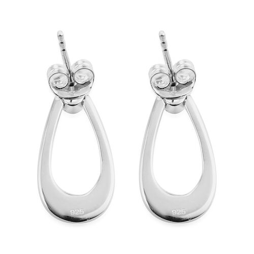 Sterling Silver Dangling Earrings (with Push Back)