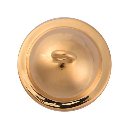 Sundays Child - 14K Gold Overlay Sterling Silver Charm