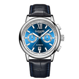 Limited Edition - GAMAGES OF LONDON Hand Assembled Vibrant Calendar Automatic Steel