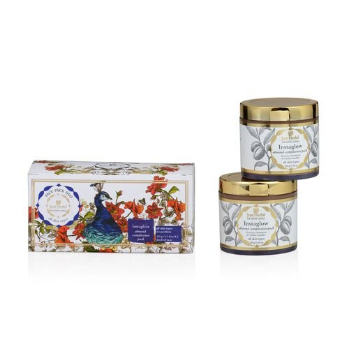 (Option 2) Set of 2 - Just Herbs Instaglow Face Pack (150g)