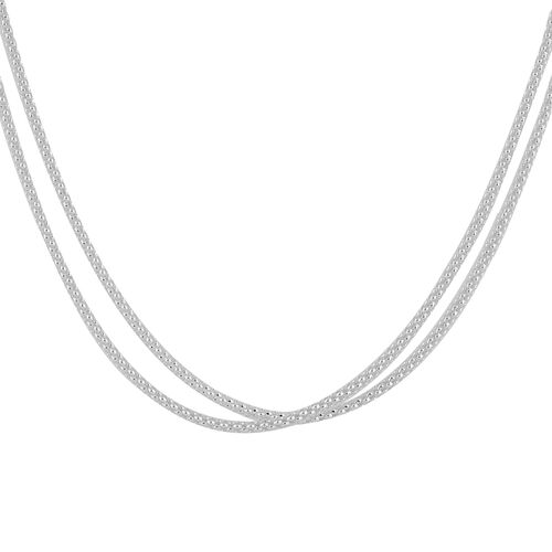 NY Designer Close Out Deal - Sterling Silver Chain (Size 60)
