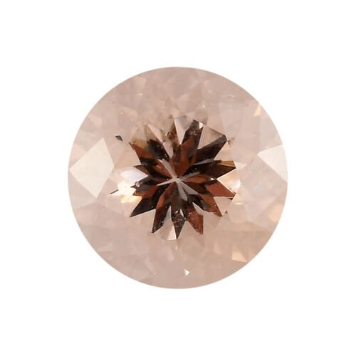 AAA Morganite Round 9 Faceted 2.30 Cts