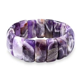 Amethyst Stretchable Bracelet (Size 7.5) 361.50  Ct.