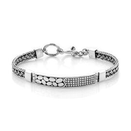 Royal Bali Collection - Sterling Silver Bracelet (Size 7.5), SIlver wt. 22.50 Gms