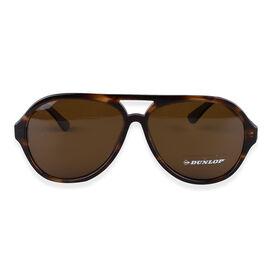 DUNLOP Mens Tortoise Aviator Sunglasses - Yellow