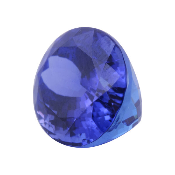 IGI Certified AAAA Tanzanite Faceted Oval  12.59x10.26, 7.190 Cts  (GT13460706)
