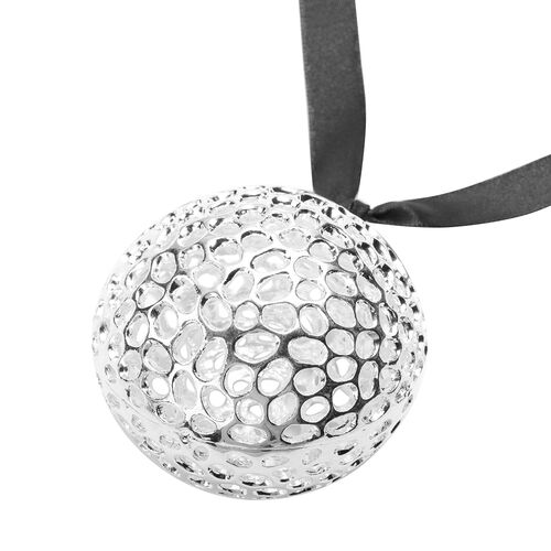 RACHEL GALLEY Round Baubles in Silver Tone