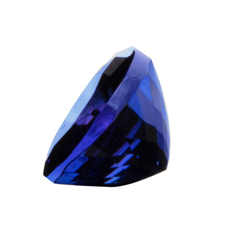 AAAA Tanzanite Oval 9.89 x7.98 mm Faceted 3.300 Cts