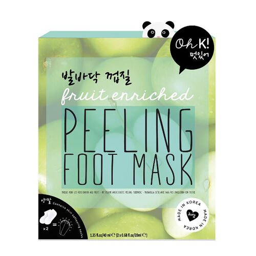 OH K - Peeling Foot  Mask and Violet Flower Hand Mask