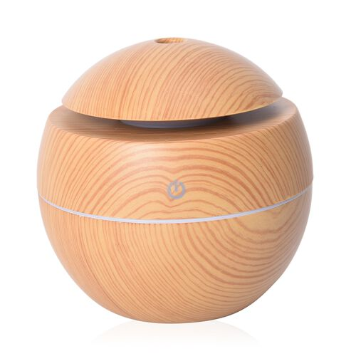 Aroma Diffuser with USB Cable (Size- D10xH9.5 Cm) - Beige Colour