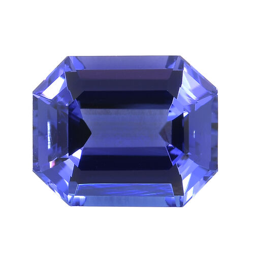 AAAA Tanzanite Octagon Cut Faceted 3.480 cts.