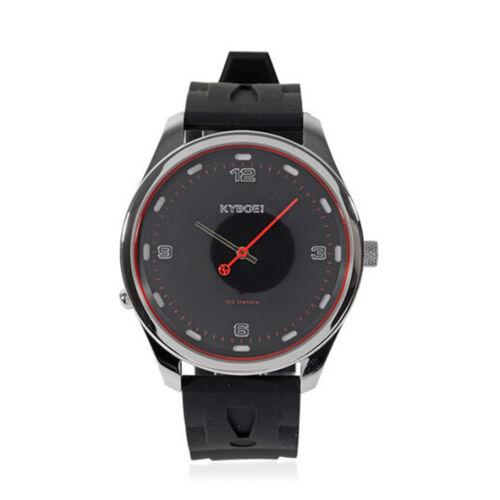 Kyboe Evolve Corsa Quartz Movement Watch in Black Colour