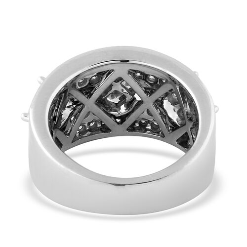 14K White Gold Natural White Diamond Ring 2.00 ct, Gold Wt. 12.00 Gms