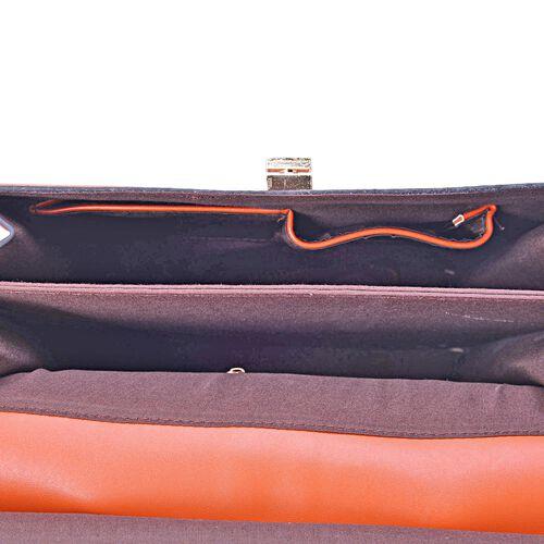 Alderley Tan Colour Grab Bag (Size 30x26x12 Cm)