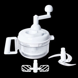 Multi-functional Shake Cutting Machine (Size 17.5x17x17 Cm) - White