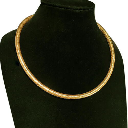 Made In Italy- 9K Yellow Gold Necklace (Size 17 with 2 inch Extender).Gold Wt 6.00 Gms