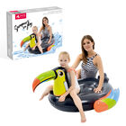 Inflatable Toucan Pool Float- Black