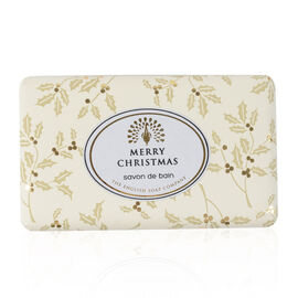 The English Soap Company: Vintage Wrapped Soap - Merry Christmas - 200g