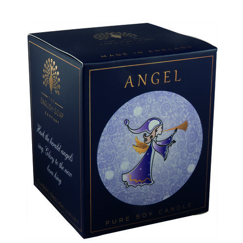 The English Soap Company: Pure Soy Wax Candle - Angel