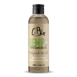 CB and CO Hemp Hair and Body Oil 100ml Estimated Dispatch 3-5 working days