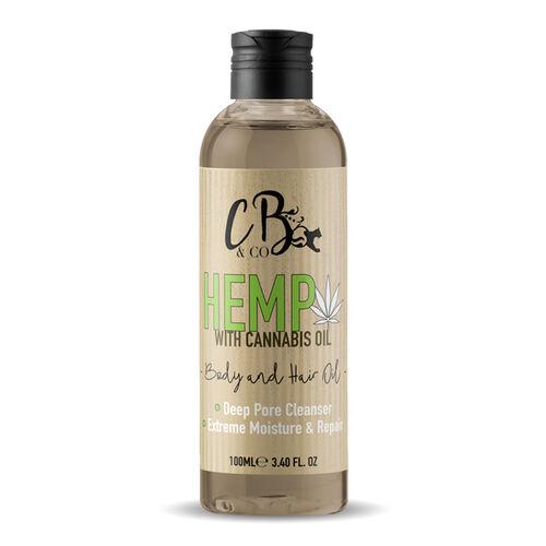 CB&CO: Hemp Hair & Body Oil - 100ml