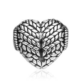 Charmes De Memoire Charm in Platinum Plated Sterling Silver 4.55 Grams