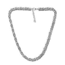 Adjustable Chain Necklace in Sterling Silver 59.31 Grams 20 with 2 inch Extender