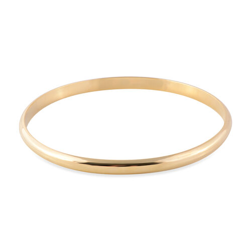 Close Out Deal 9K Yellow Gold Bangle (Size 8), Gold wt 5.60 gms.